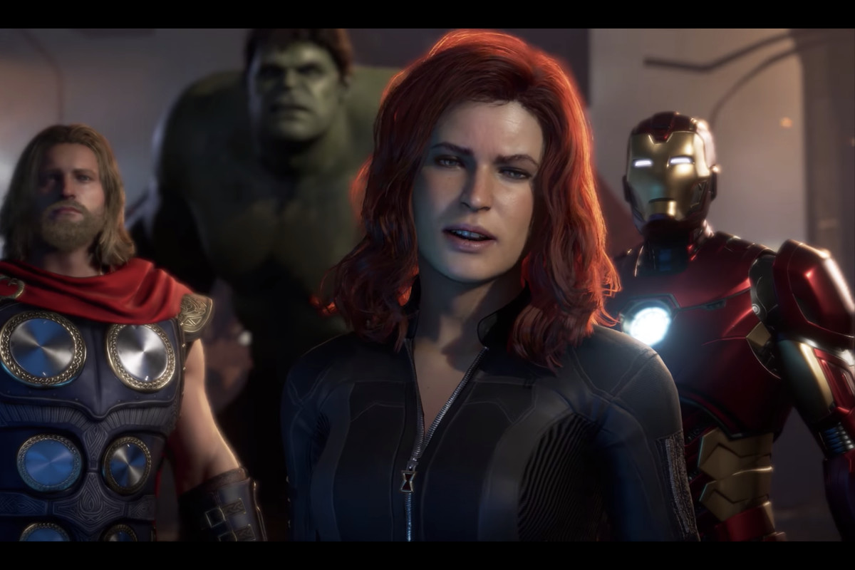 Black Widow in Marvel's Avengers