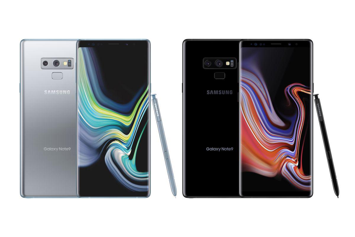 c76f78aeb7f664 Samsung debuts Note 9 in silver and brings black model to the US ...