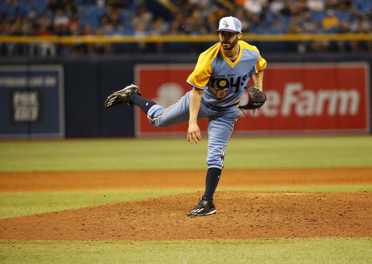 MLB: Game One-Oakland Athletics at Tampa Bay Rays