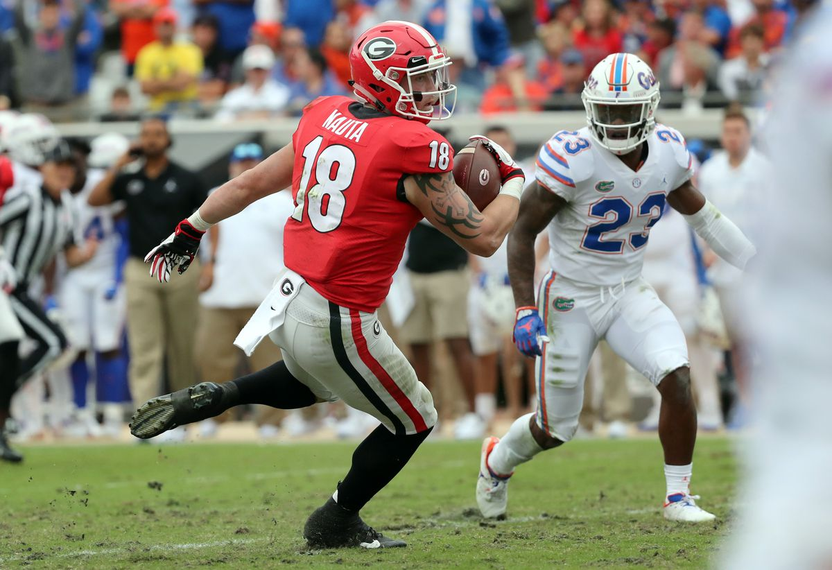 NCAA Football: Florida at Georgia