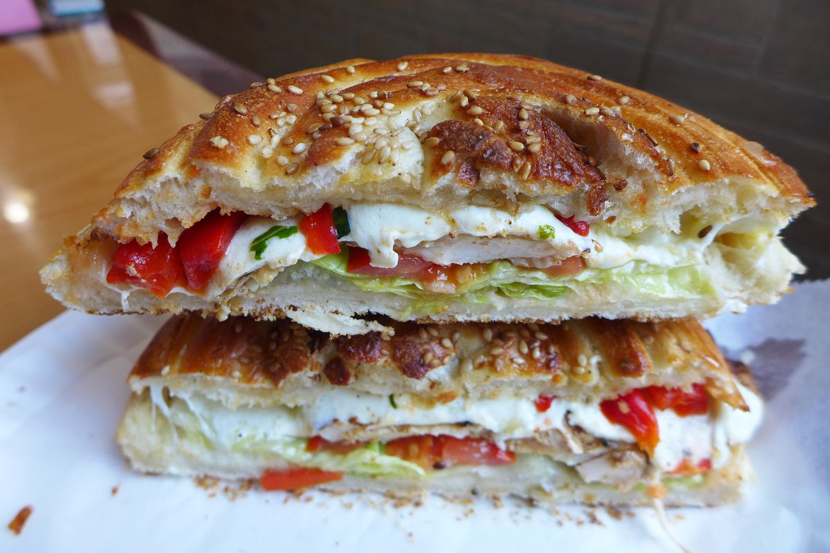 Brooklyn Pizzeria La Bella Serves A Grilled Chicken Sandwich That S Unforgettable Eater Ny