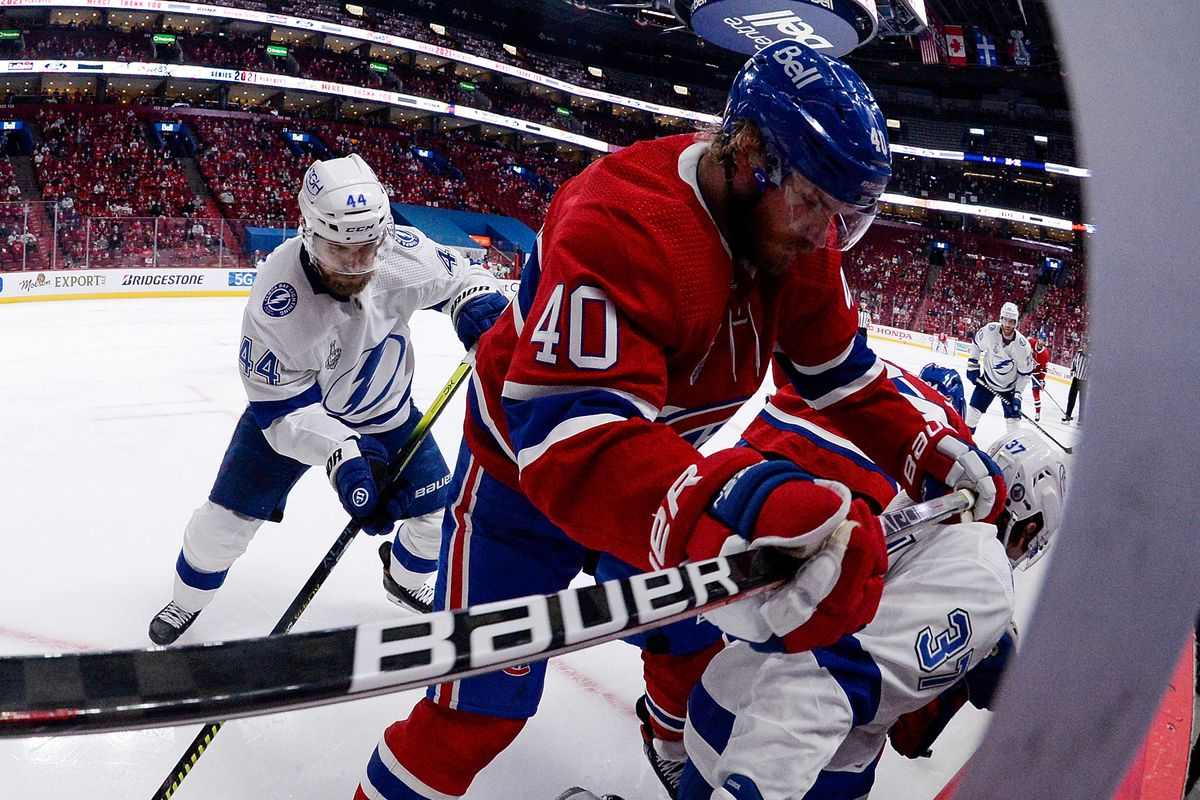 NHL: Stanley Cup Final-Tampa Bay Lightning at Montreal Canadiens