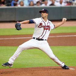 Drew Smyly, Braves starting pitcher on Sunday