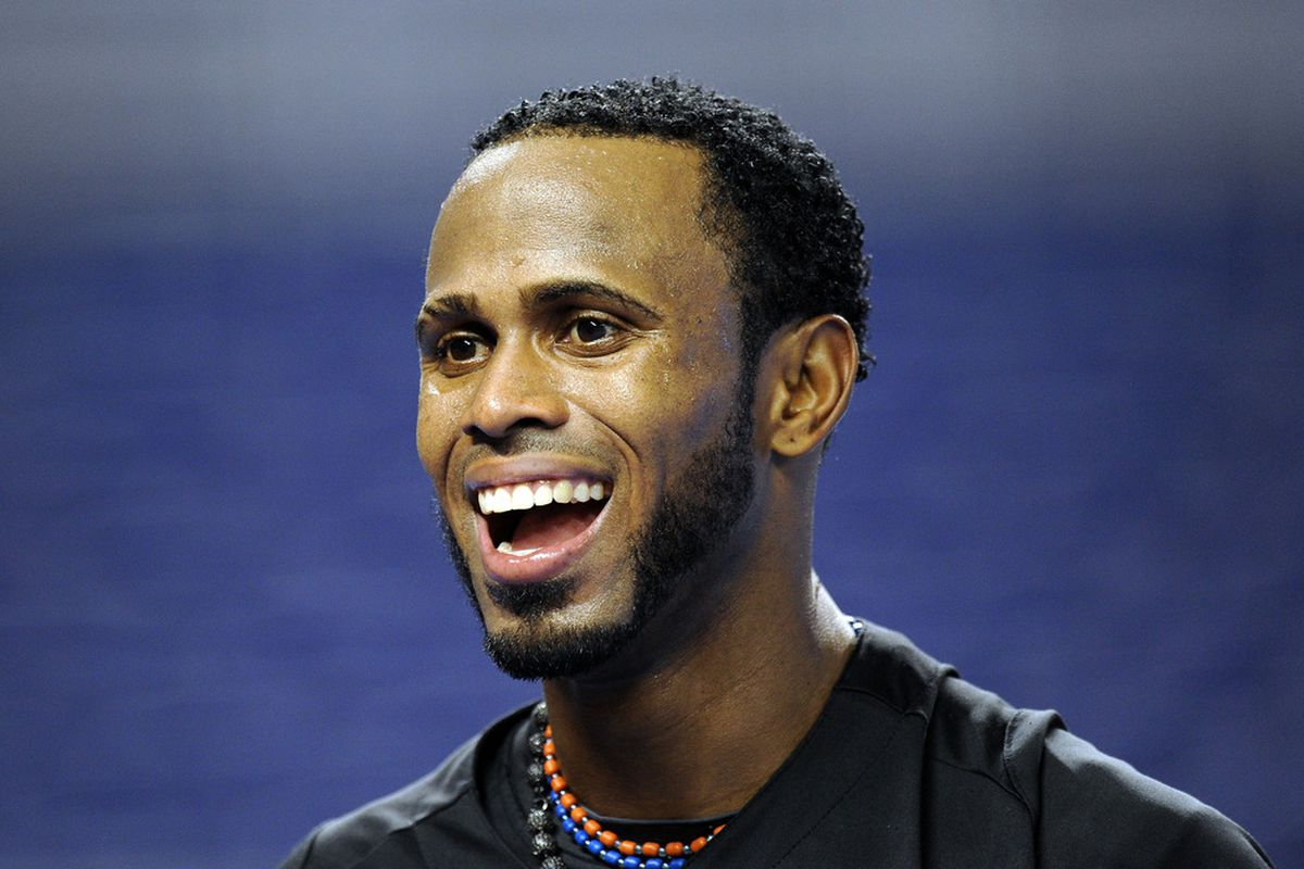 Jose Reyes is in Miami now, and the New York Mets get two compensatory picks in the 2012 MLB Draft because of that. Steve Mitchell-US PRESSWIRE