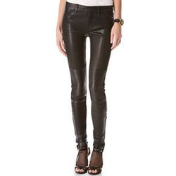 """<strong>J Brand Jeans</strong> Nicola Leather Moto, <a href=""""http://www1.bloomingdales.com/shop/product/j-brand-jeans-nicola-leather-moto?ID=760167"""">$1,096</a> at Bloomingdale's"""