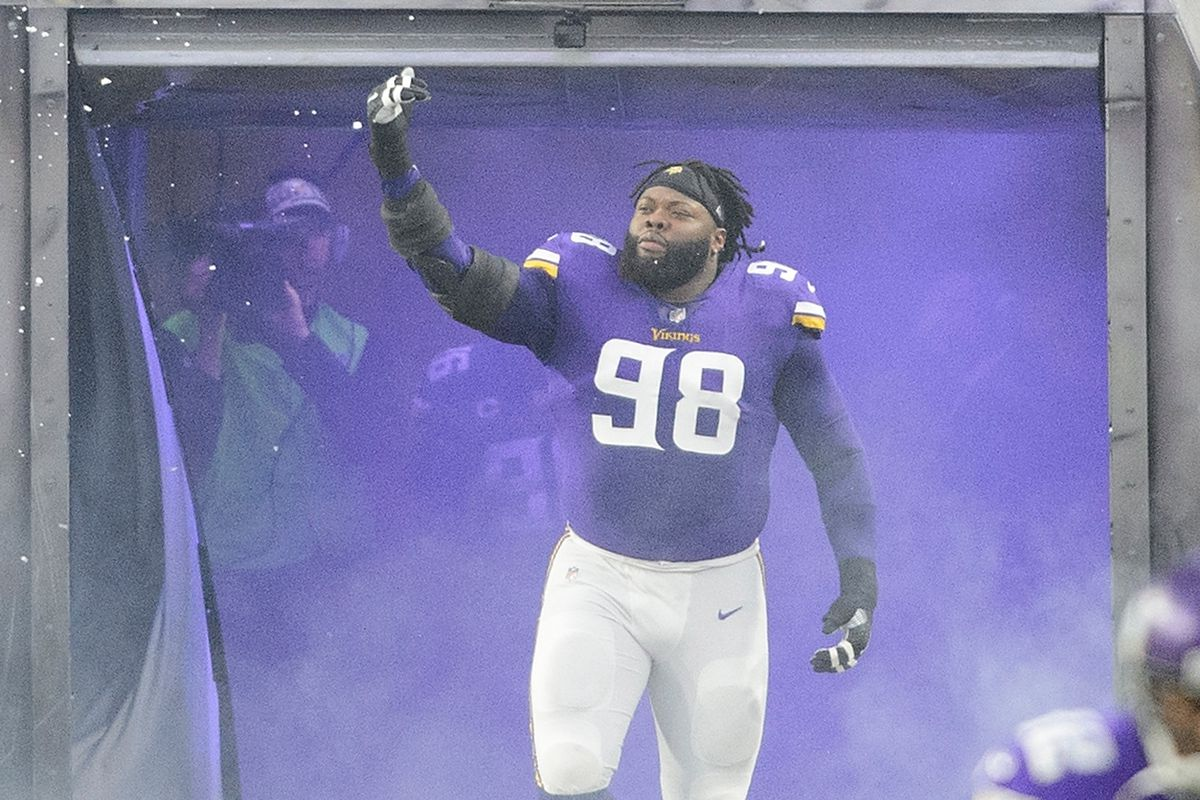 NFL playoffs 2018: Linval Joseph wants to bring the Vikings a ...