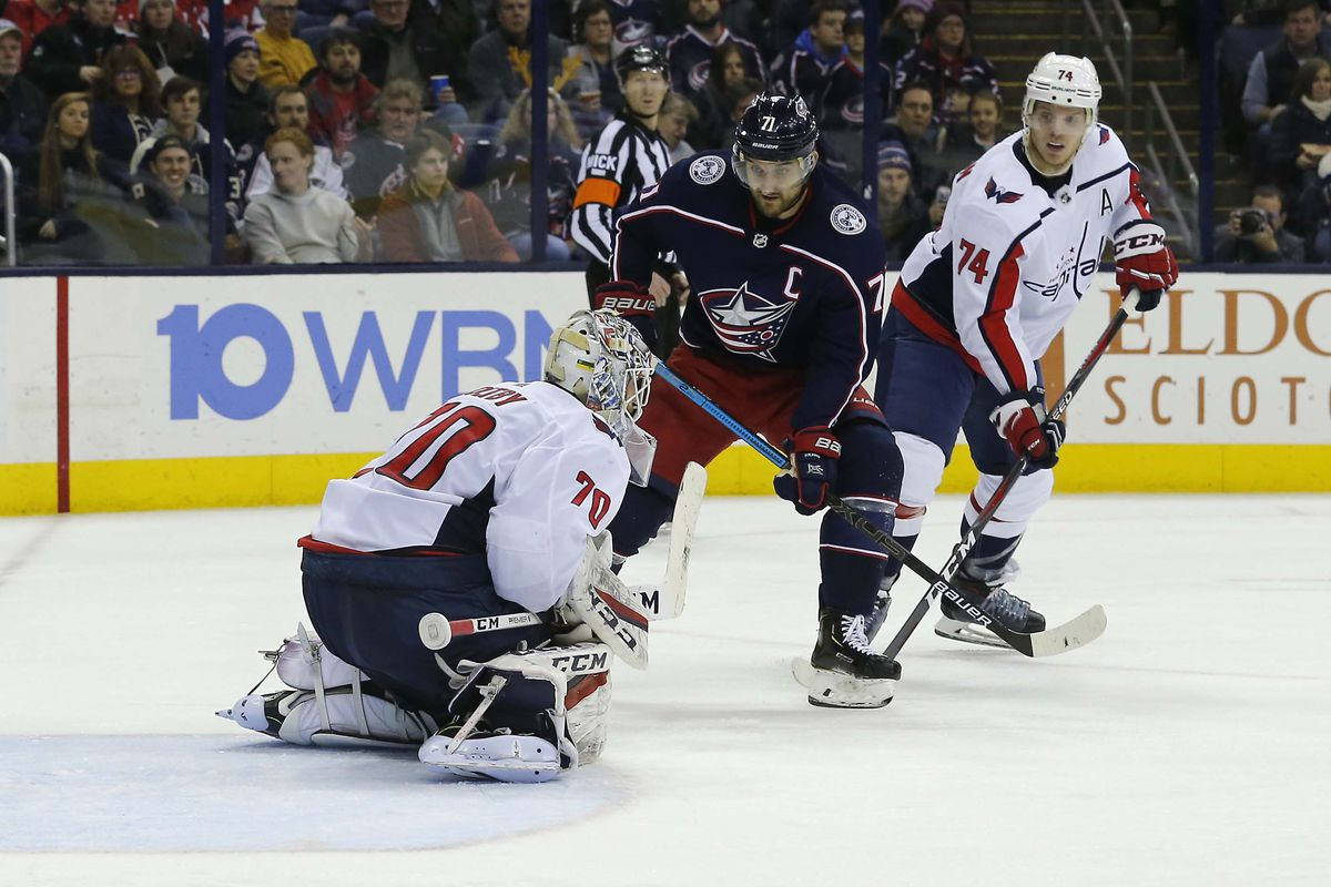 Game  44 Preview  Columbus Blue Jackets at Washington Capitals - The ... 41839c7f2d1