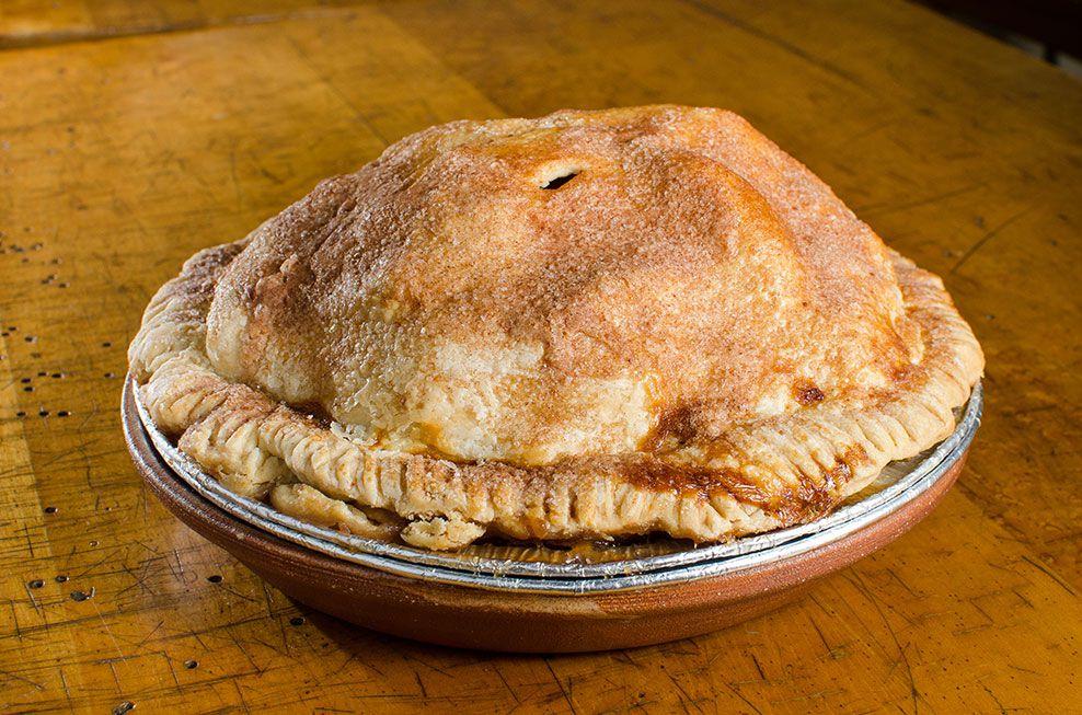 An apple pie.