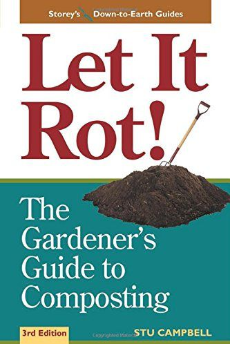 """Book cover that says """"Let it rot!"""" with an image of soil."""