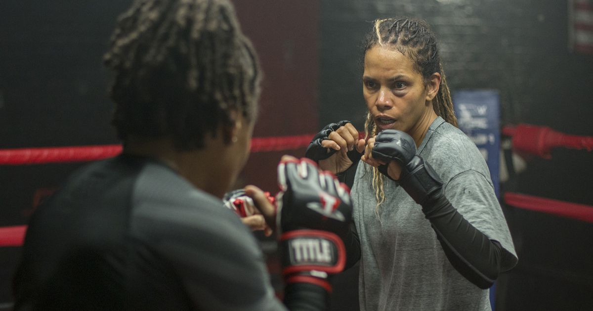 Video: Valentina Shevchenko praises Halle Berry after training together for upcoming film: 'She has a lot of power'