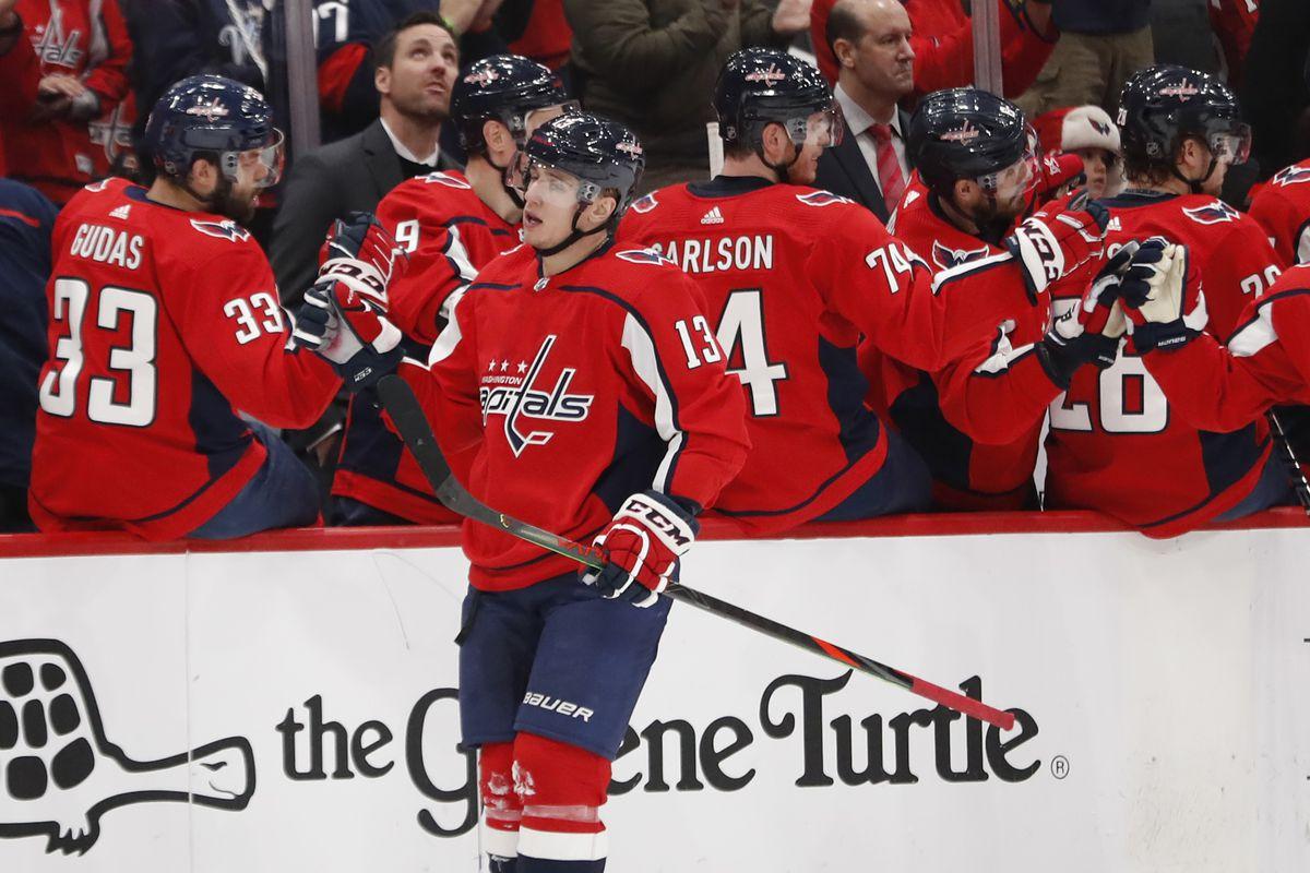 NHL: San Jose Sharks at Washington Capitals