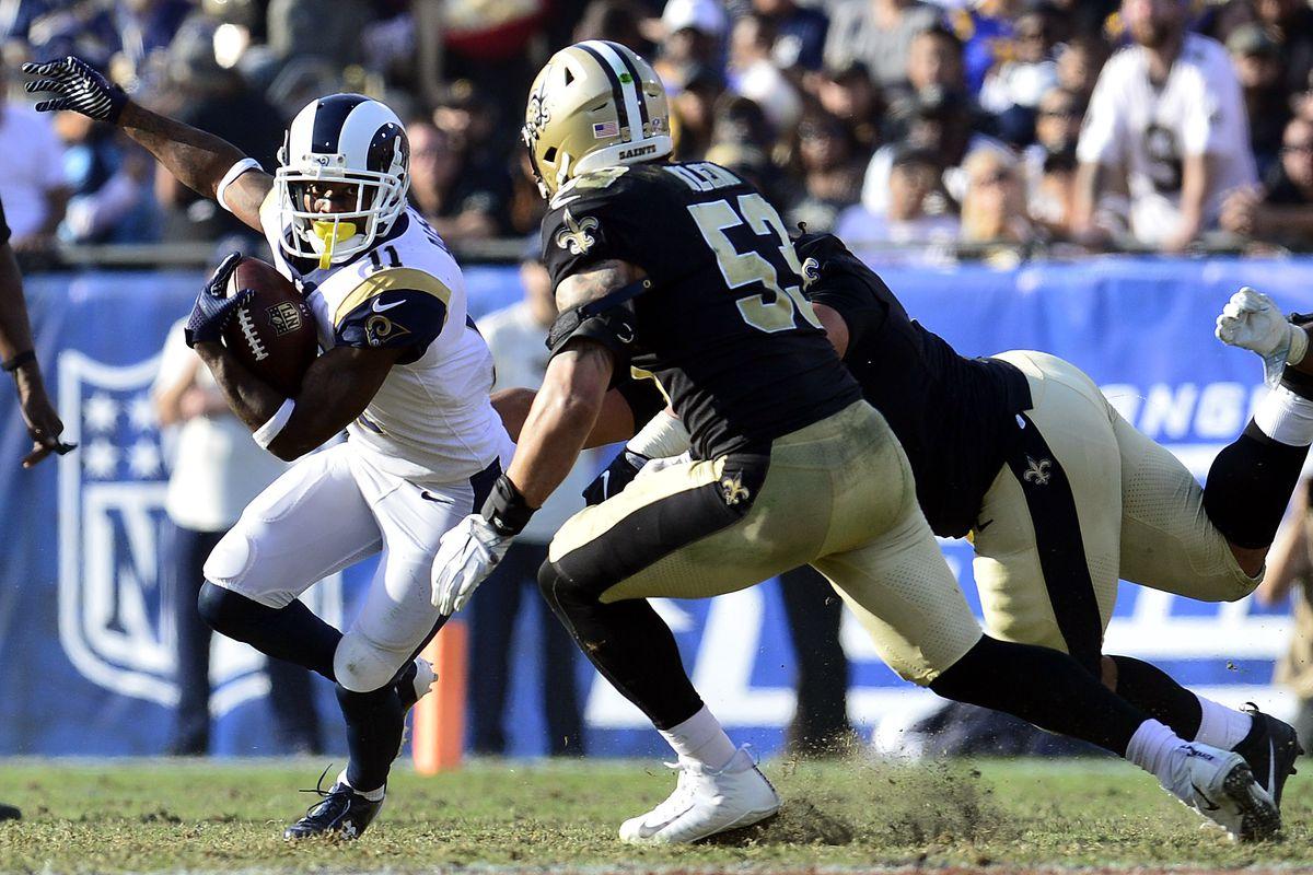 NFL: New Orleans Saints at Los Angeles Rams