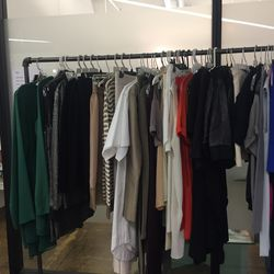 Nomia's sample sale section