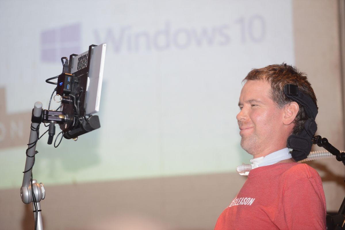 Windows 10 And Team Gleason Host Fireside Chat With Steve Gleason At SXSW