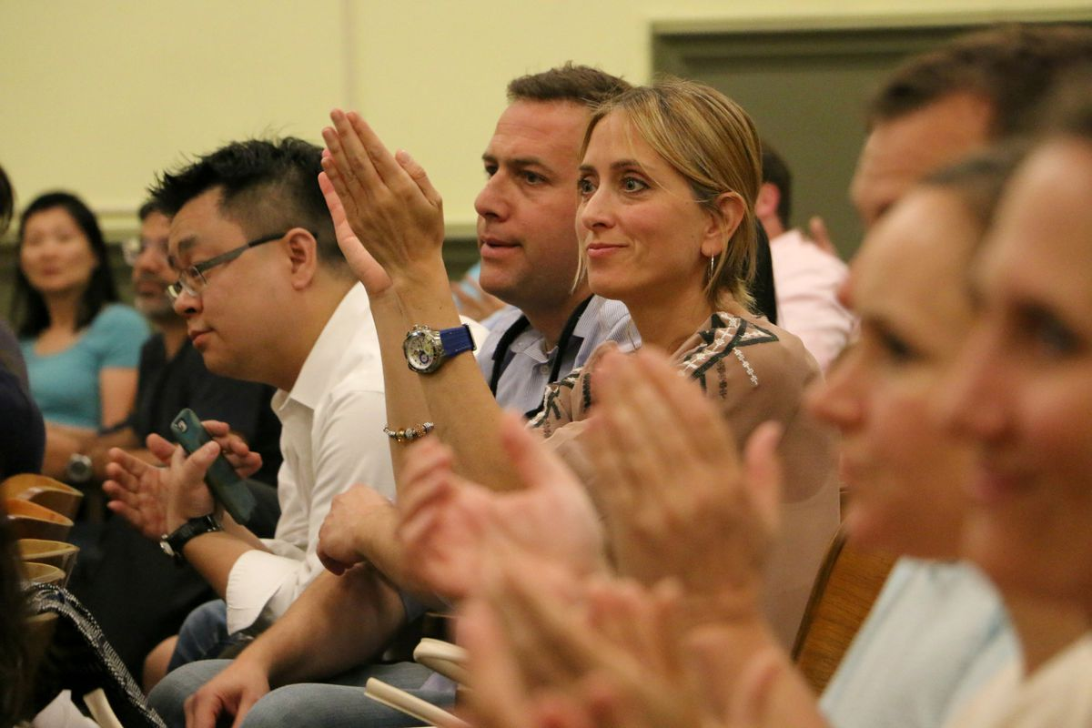 Dozens of parents spoke out against a plan to relocate P.S. 452 at a recent public hearing.