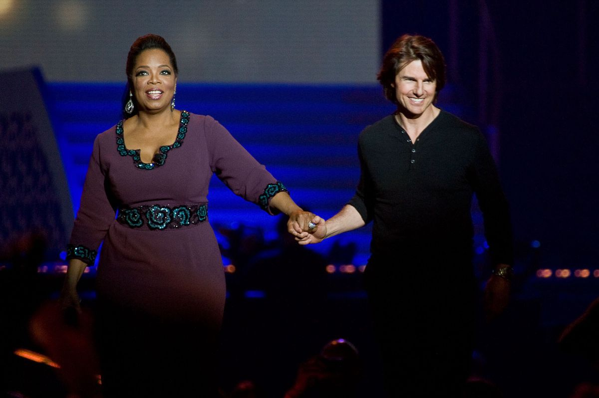 Winfrey and Tom Cruise (GettyImages)