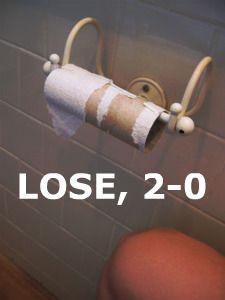 LOSE, 2-0