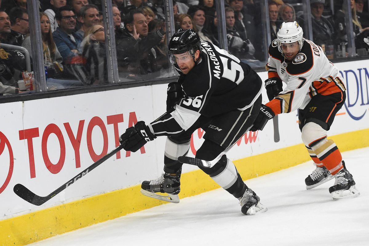 NHL: Anaheim Ducks at Los Angeles Kings