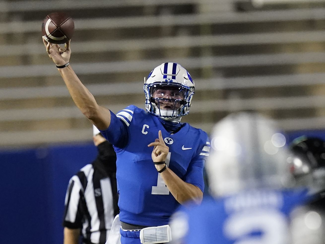 BYU's Zach Wilson didn't miss a beat in posting career night against Troy
