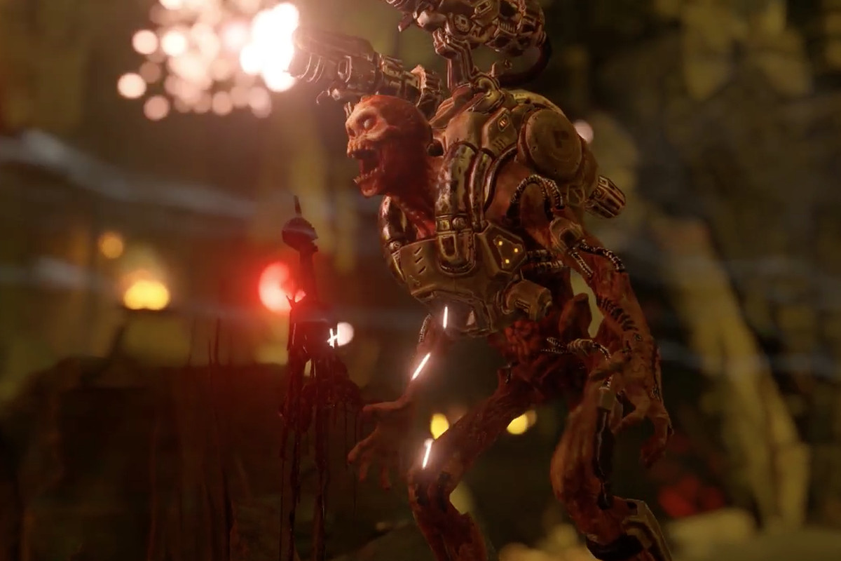 Bethesda had the perfect answer for people bothered by Doom's
