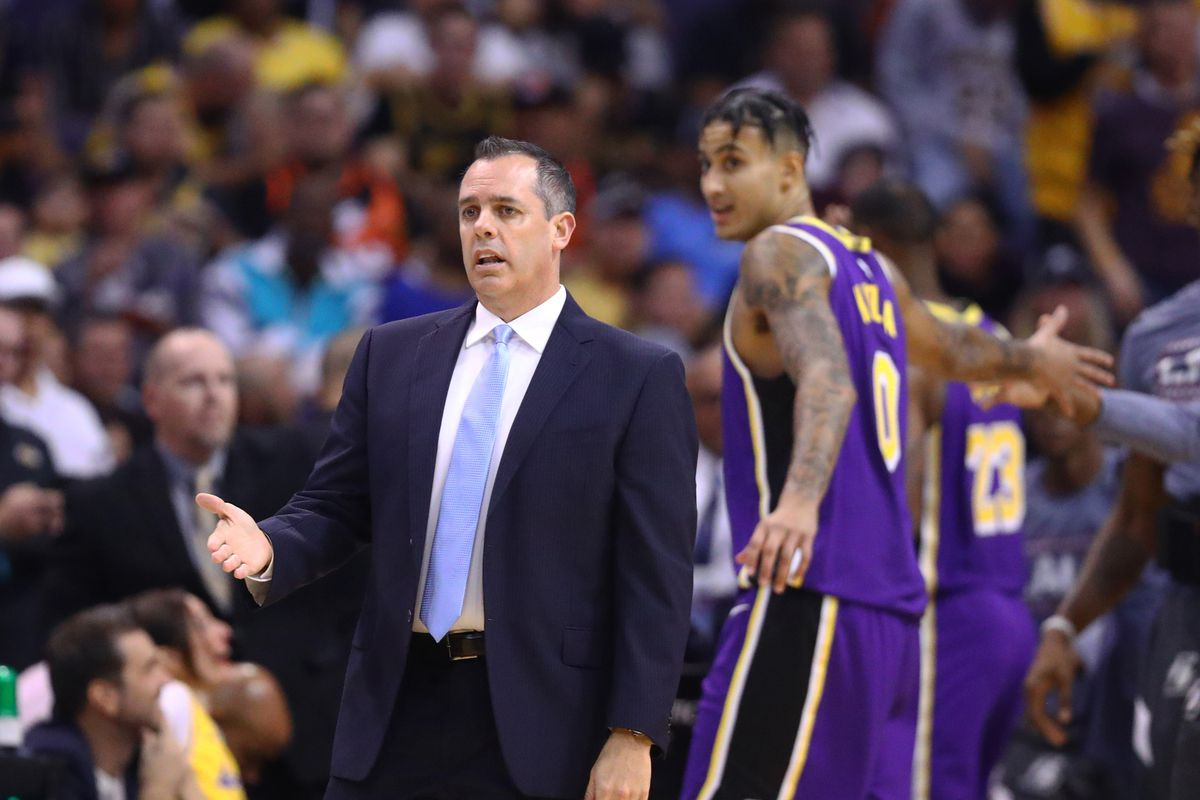 Lakers: Frank Vogel likes way Kyle Kuzma is scoring 'for the most part'