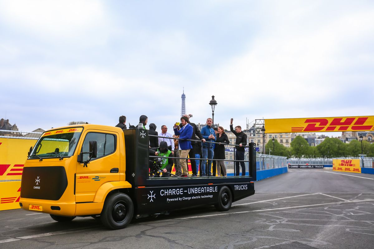 The Creator Of Roborace Is Supplying Formula E With Electric Trucks Race Car Fuel Filters Racing Series Thats Set To Debut During Next Season Companys Run On Fully Motors But Are Supplemented A