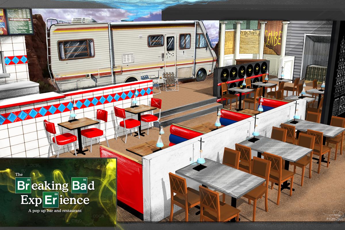Breaking Bad experience rendering in Los Angeles.