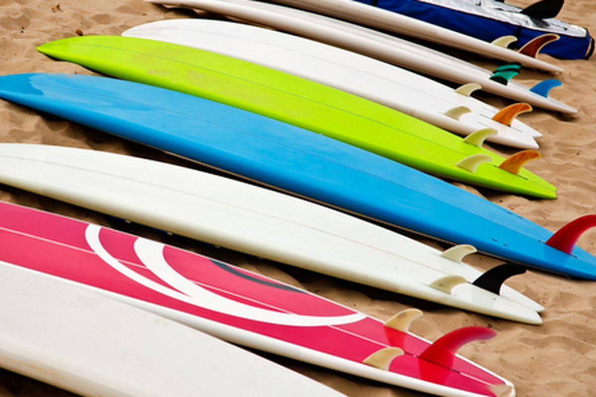 """Image via <a href=""""http://www.shutterstock.com/pic-134498546/stock-photo-colorful-surf-boards-on-the-beach.html?src=VyfnKfiOx8MAJEY1X5N1Lg-1-31"""">Shutterstock</a>"""