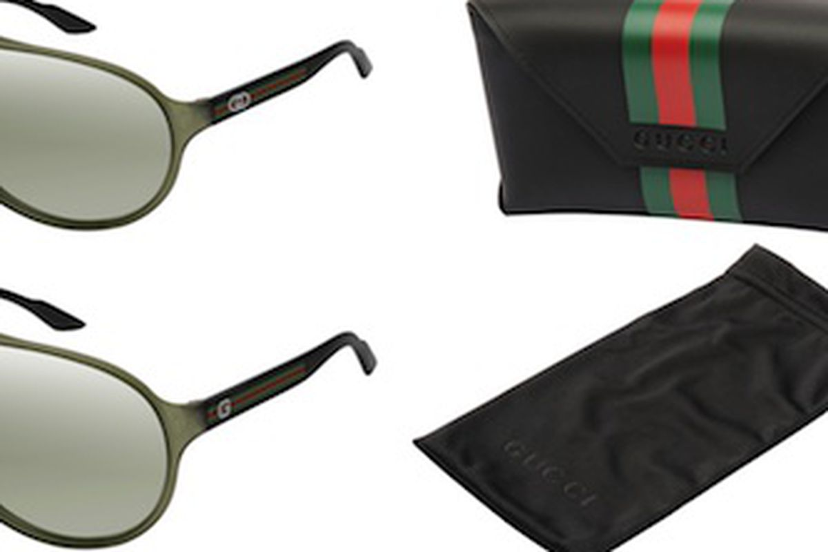 e1abc343714 Gucci Goes Green  Makes Sunglasses Out of Castor-Oil Seeds - Racked