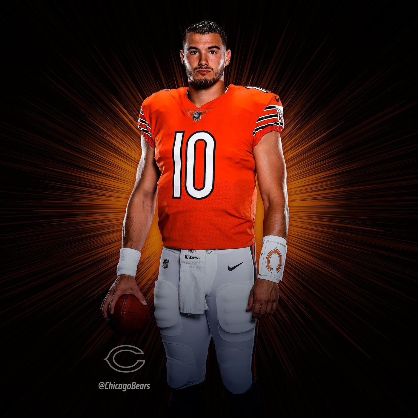 quality design 8ad89 44493 Chicago Bears release new orange jerseys for 2018 season ...