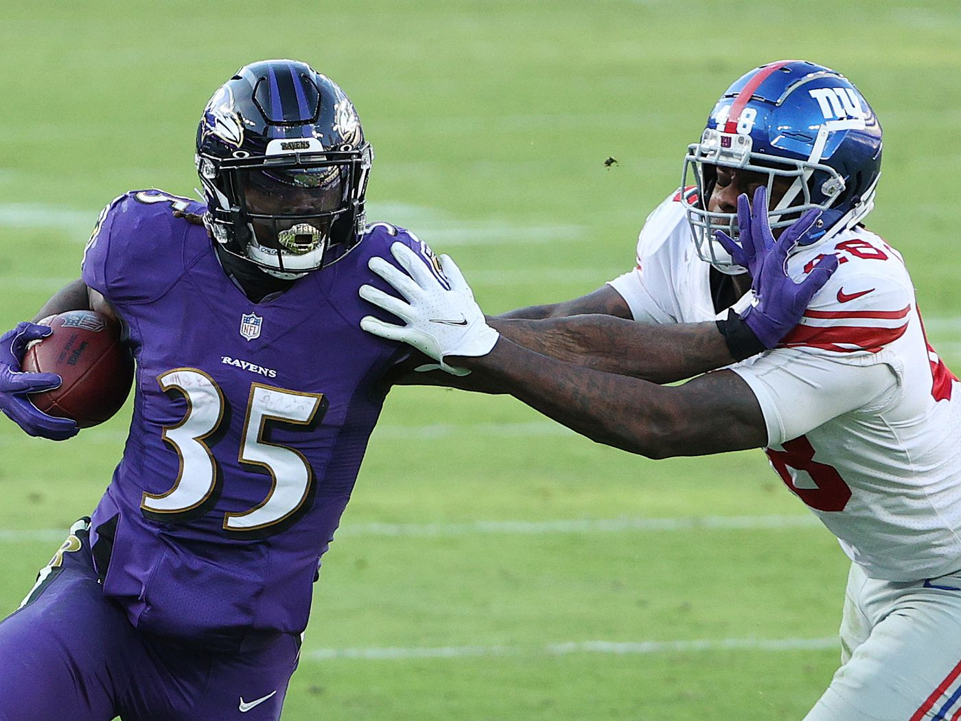 Giants At Ravens 4 Things We Learned From A Bruising Day In Baltimore Big Blue View