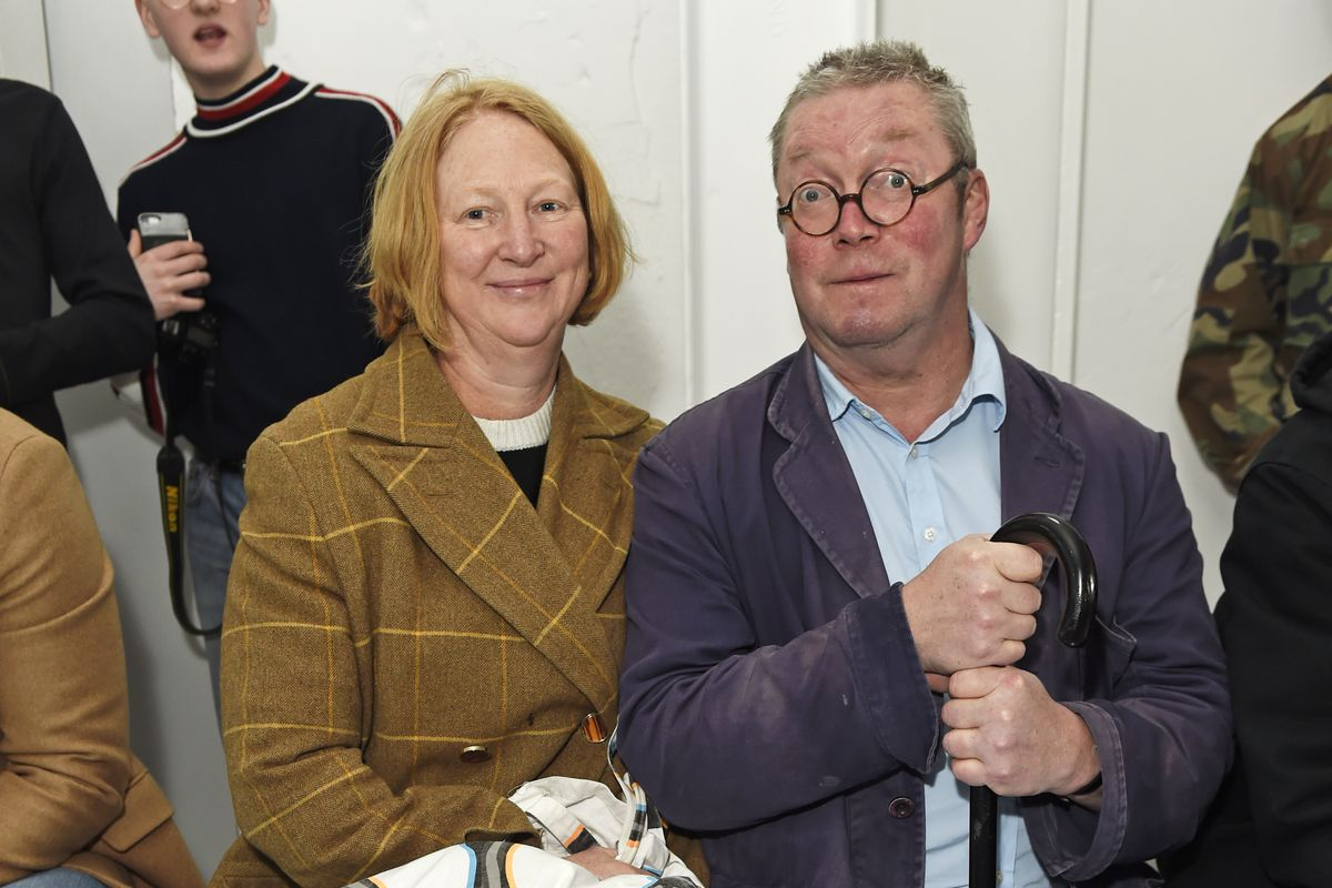 Margot Henderson, left, and Fergus Henderson, right