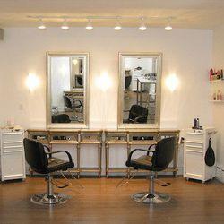 The styling station [Photos: Courtesy of Salon Blue]