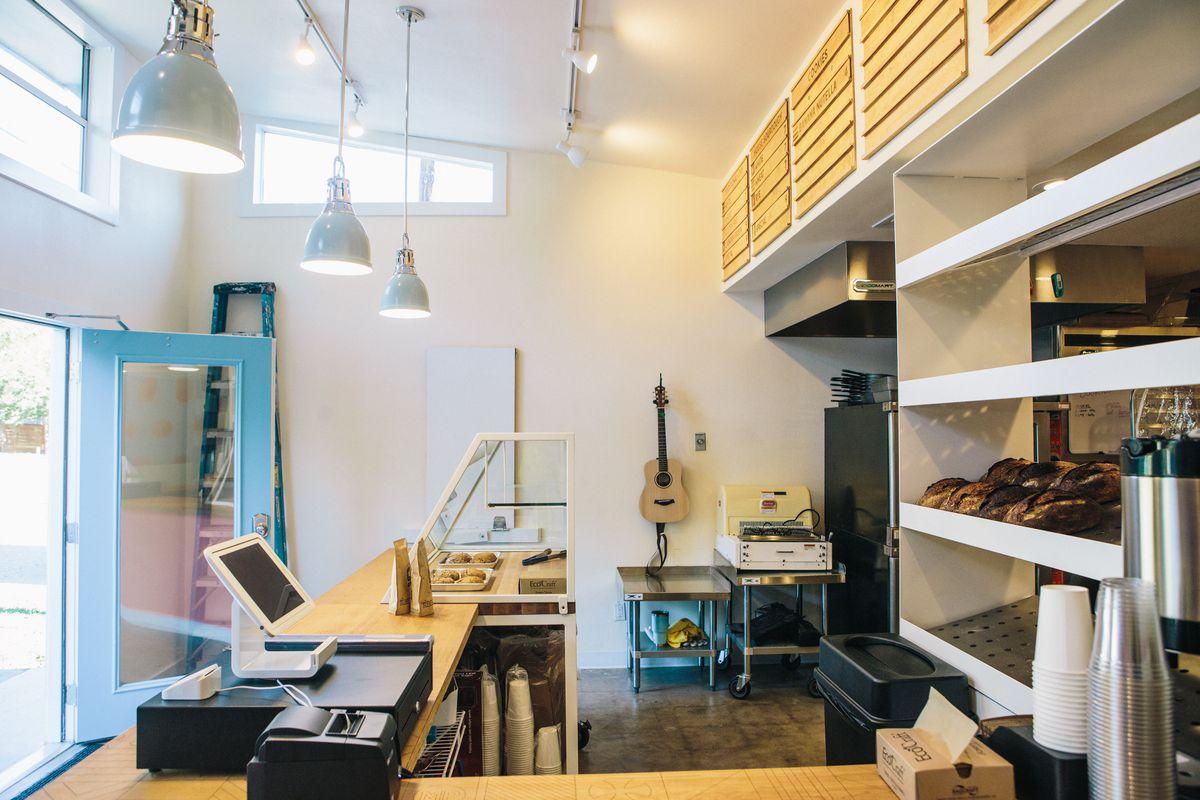 Inside ThoroughBread bakery