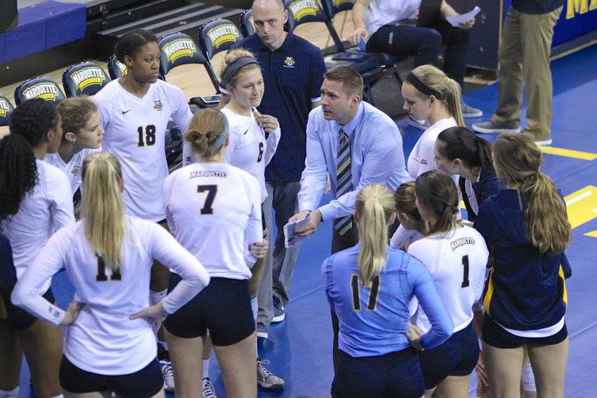 Marquette women's volleyball