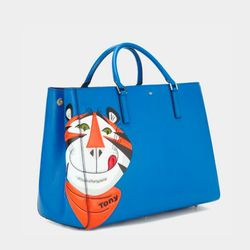 Anya Hindmarch Ebury Featherweight Frosties Tote, $2,295