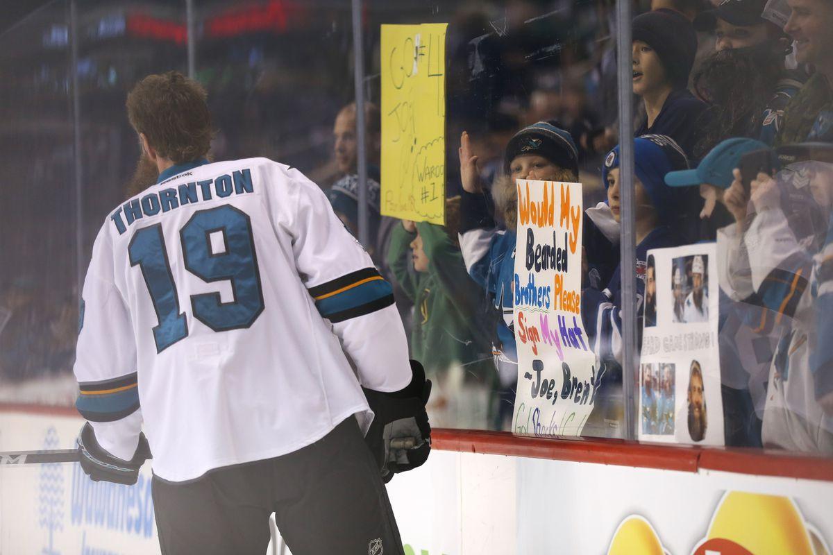 NHL: San Jose Sharks at Winnipeg Jets