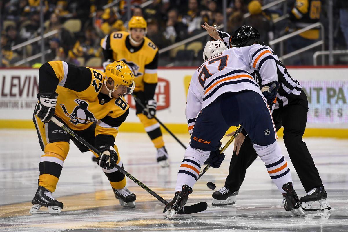 NHL: NOV 02 Oilers at Penguins