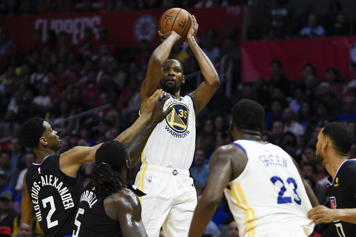 84537553a2c0 Kevin Durant leads Warriors past Clippers in Game 3 - Golden State ...