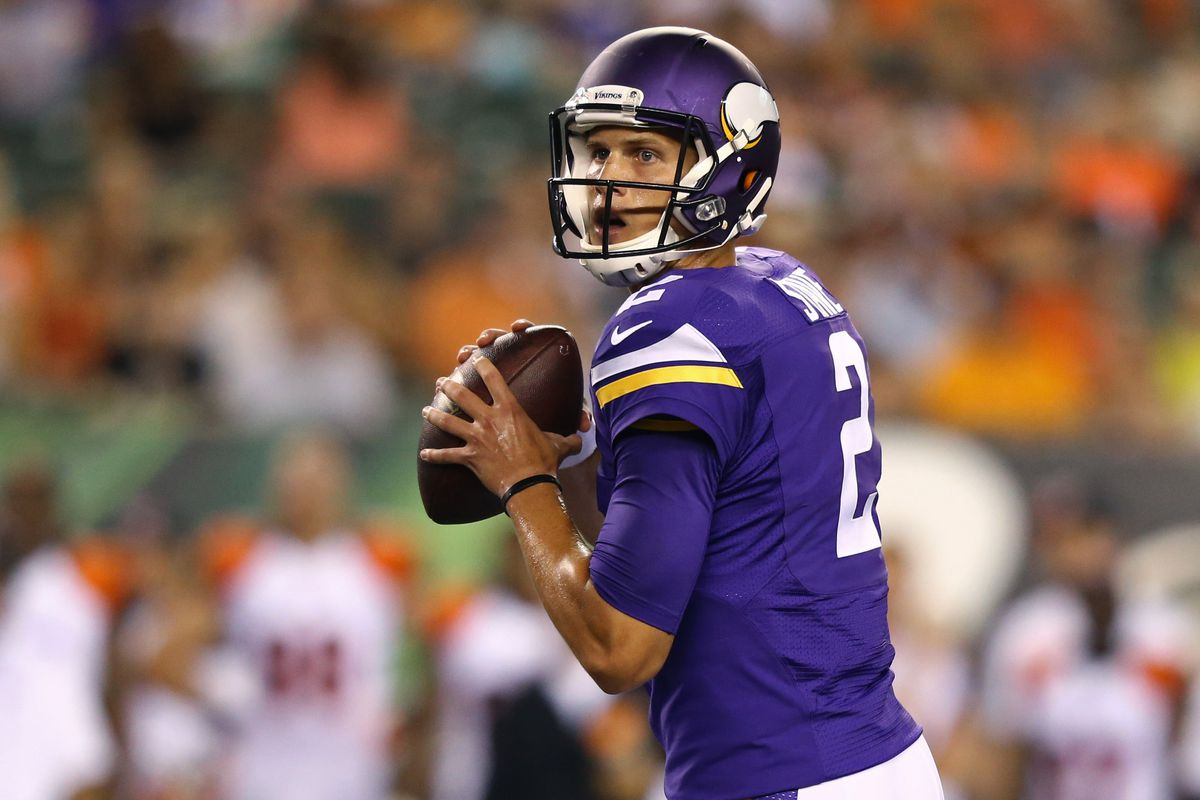 The preseason is Joel Stave's time to shine.
