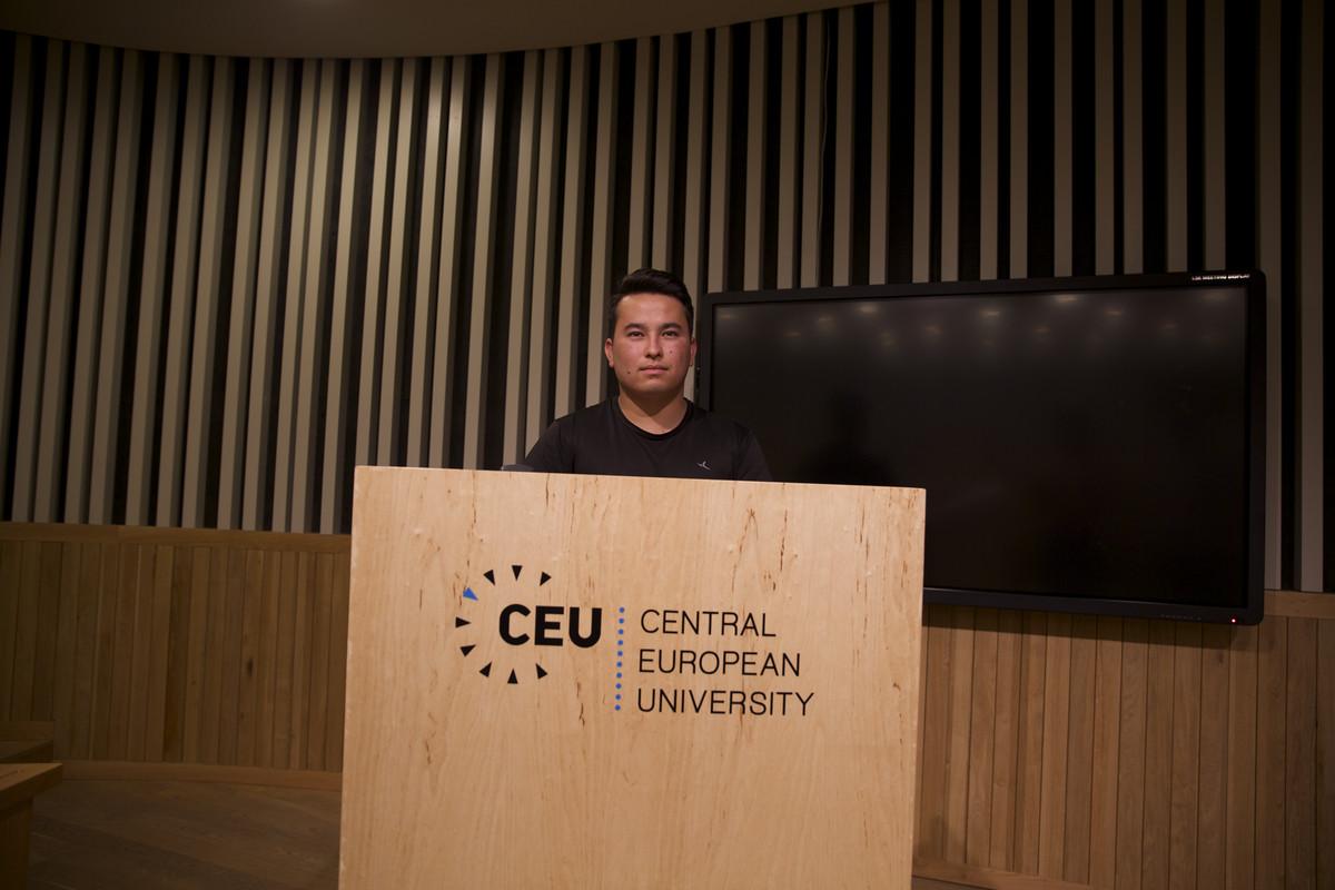 Ibrar Hussein Mirzai at CEU in June.