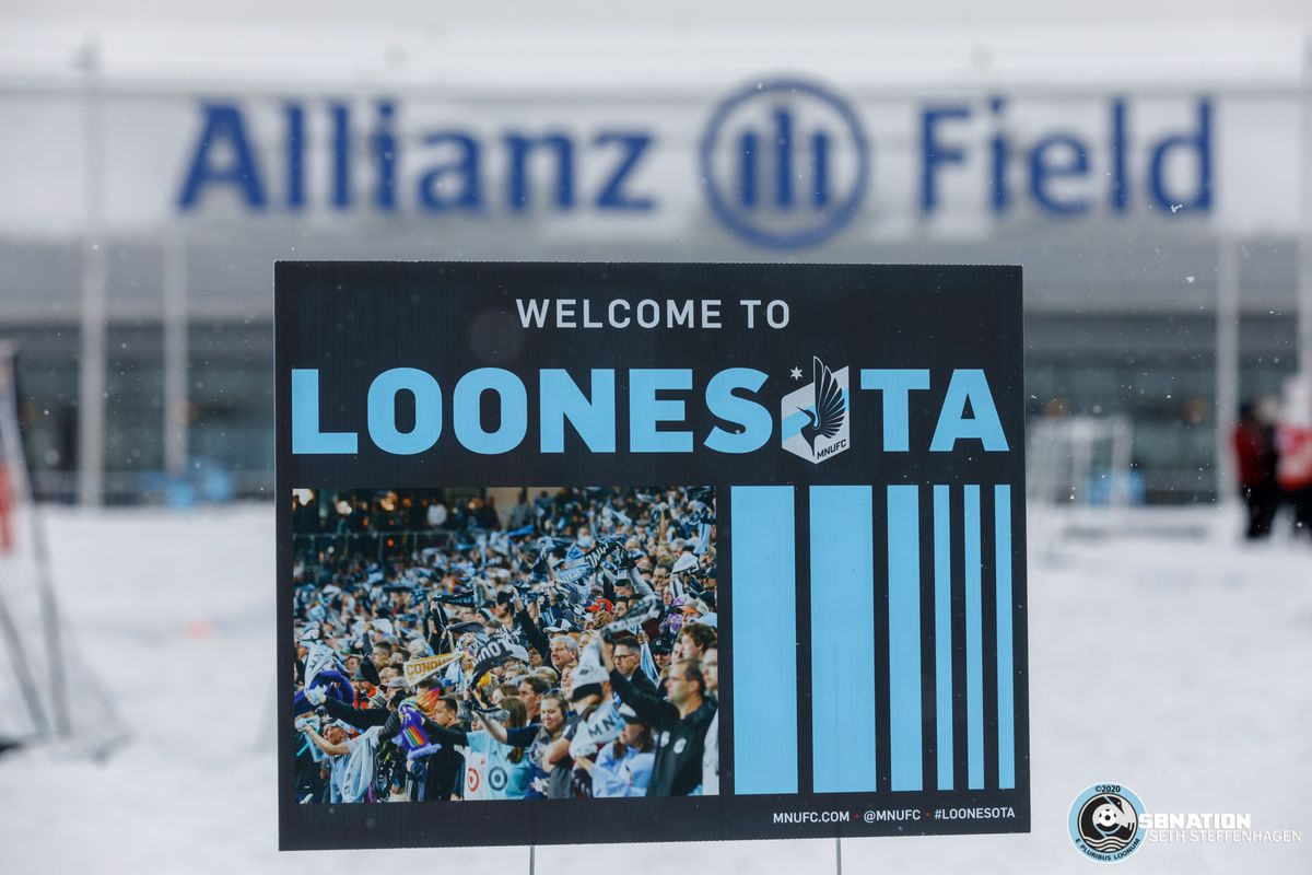 February 9, 2020 - Saint Paul, Minnesota, United States - Scenes from the 2020 Surly Boot Soccer Tournament at Allianz Field.