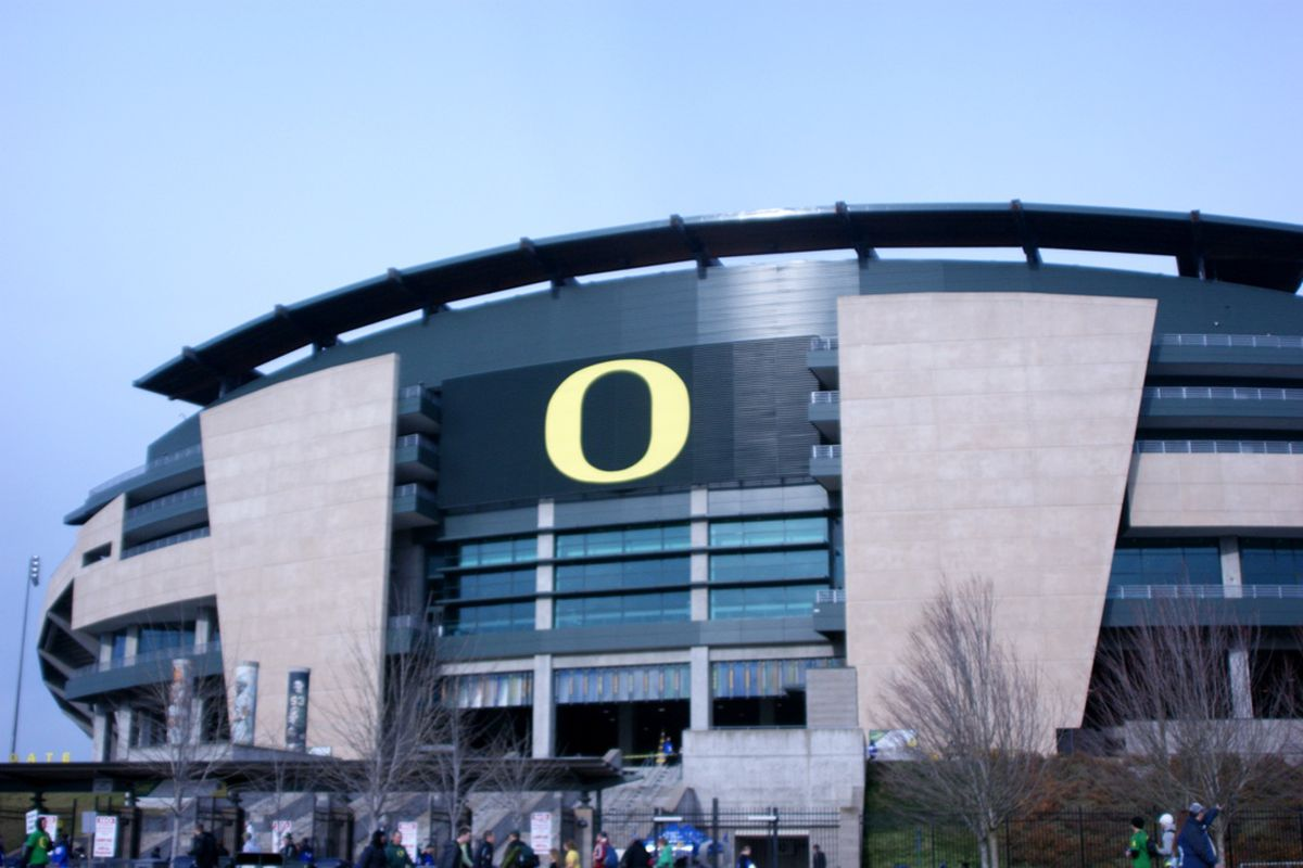 """Oregon State ends their season down the road today, at that other """"O"""" program."""