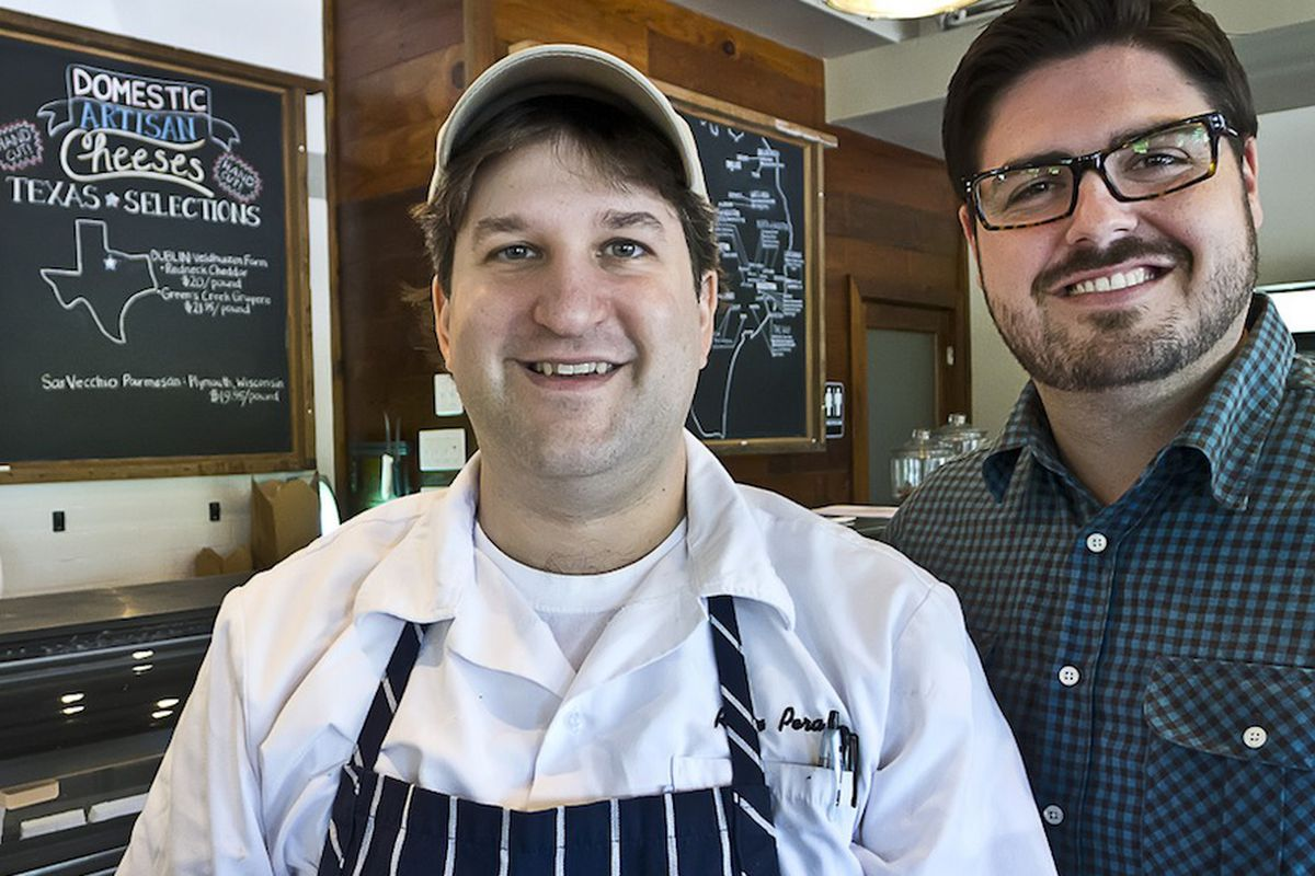 The duo behind Revival Market: Ryan Pera (left) and Morgan Weber (right).