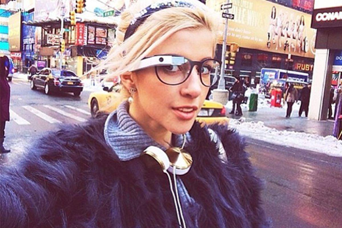 """Photo via Google Glass/<a href=""""http://instagram.com/googleglass"""">Instagram</a>"""