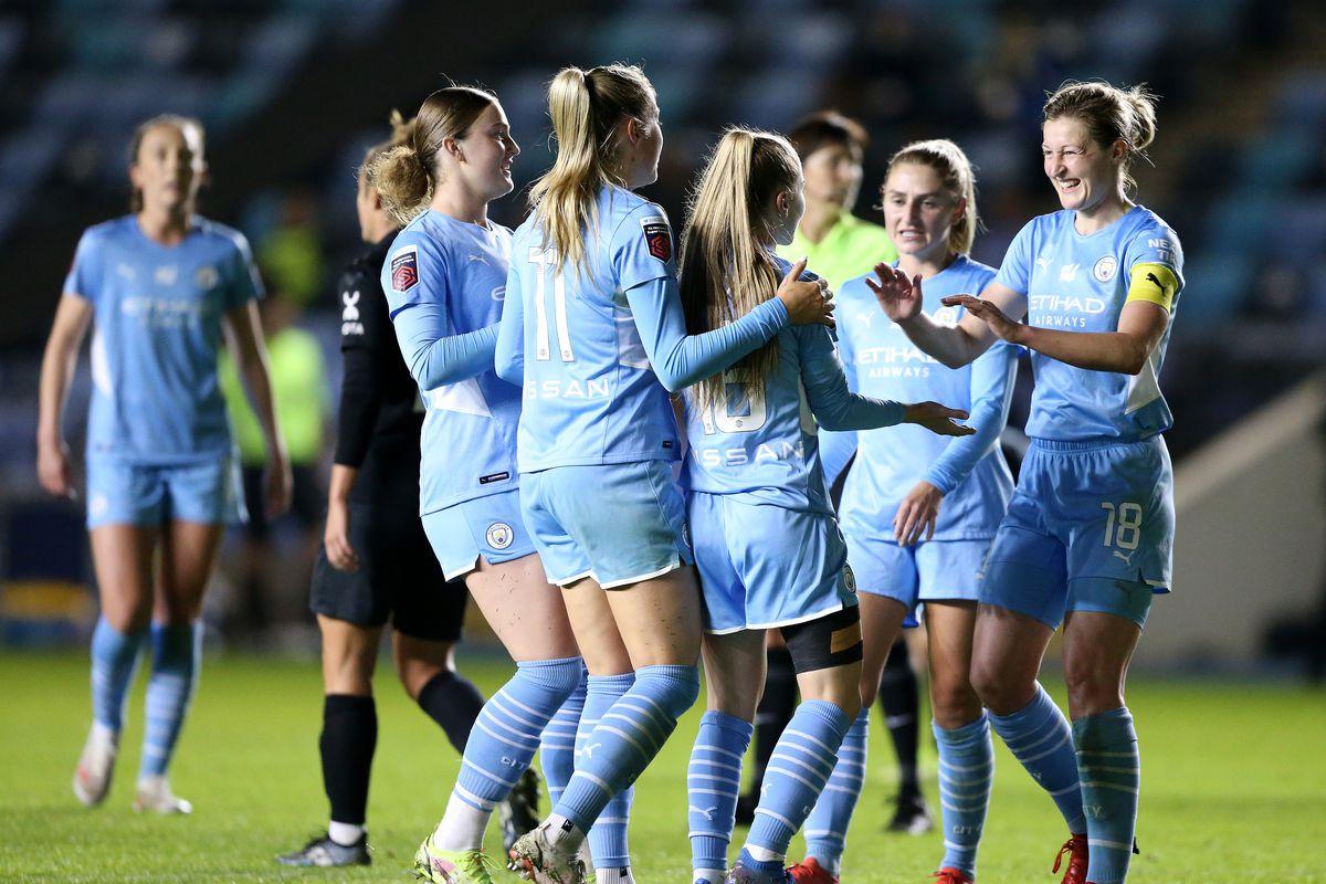 Manchester City Women v Everton Women - FA Women's Continental Tyres League Cup