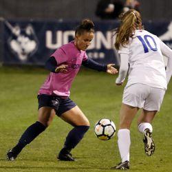SMU Mustangs vs UConn Women's Soccer