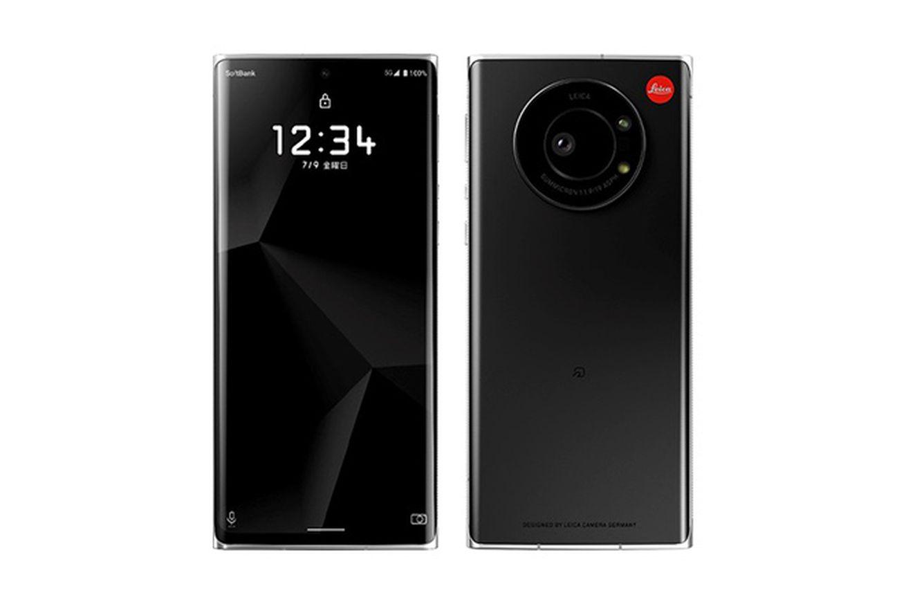 Leica phone announced by SoftBank in Japan