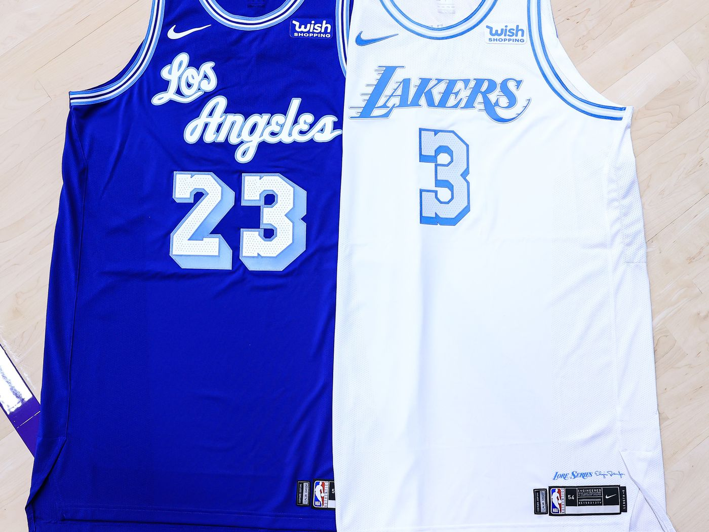 New Elgin Baylor inspired Lakers jerseys are fresh take on classic ...