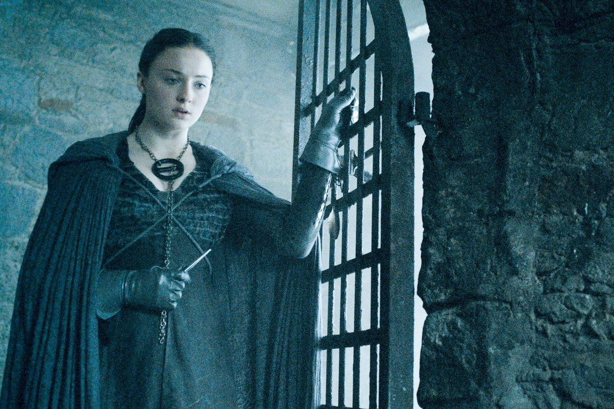 Sansa's been imprisoned by a boring supervillain who just makes things grimmer for everybody.